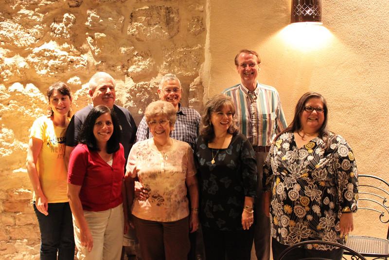 Demetria, Dennis, Uncle Charlie, Sam, Jo-Ann, Aunt Marie, Barbara & Bonnie