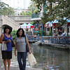 Tish & Jo-Ann by the San Antonio Riverwalk