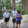 Dennis, Mike & Tish walking along the Riverwalk