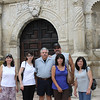 Jen, Demetria, Dennis, Mike, Tish & Jo-Ann at the Alamo