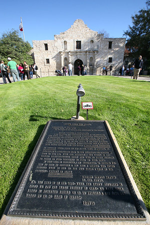 Alamo  The Alamo, originally known as Mission San Antonio de Valero, is a former Roman Catholic mission and fortress compound and was the site of the Battle of the Alamo in 1836. It is now a museum in Downtown San Antonio, Texas