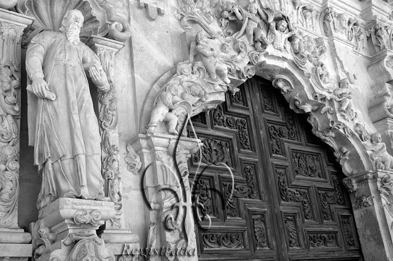Mission San José entrance