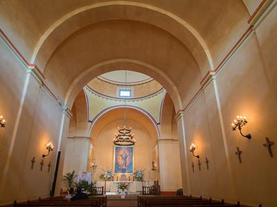 Interior, Mission Conceptión, San Antonio, TX