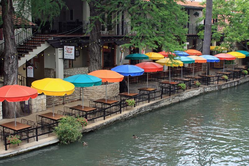 Good Tex-Mex food at Casa Rio on the Riverwalk.