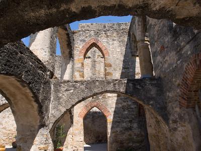 Archways, Mission San José, San Antonio, TX