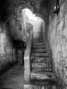 Stairway, Mission Conceptión, San Antonio, TX