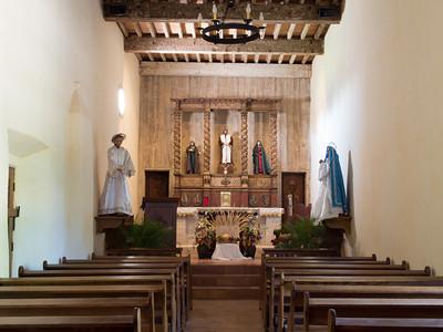 Interior, Mission San Juan, San Antonio, TX