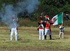 Some of the Mexican army firing their long rifles.<br /> I was using the 300 on these shots and seem to have had a lot of trouble with focus, so only these two of the dozens of shots seem to have worked out.