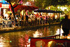 San Antonio River Walk at night
