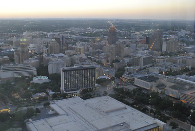 View from Tower of the Americas, San Antonio, TX