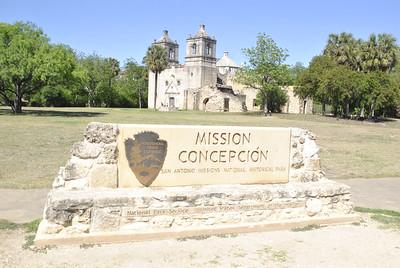 Mission Concepcion- San Antonio, TX