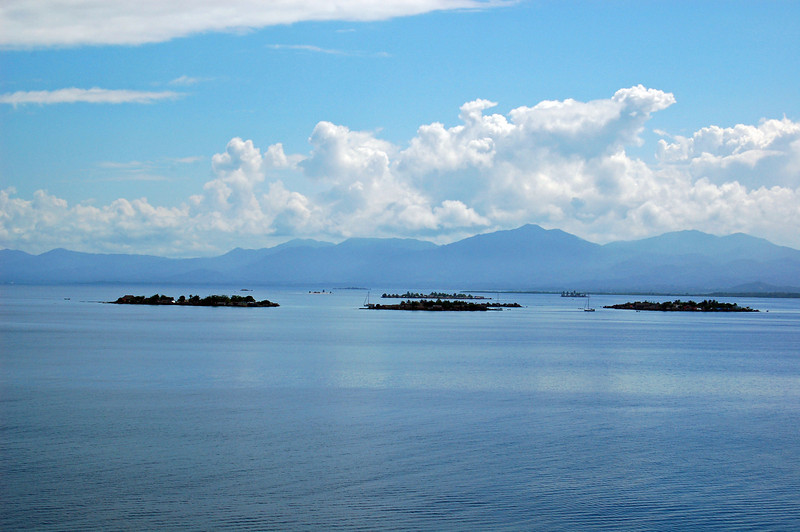 Six of the 365 San Blas Islands