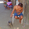 Boy with Racoon