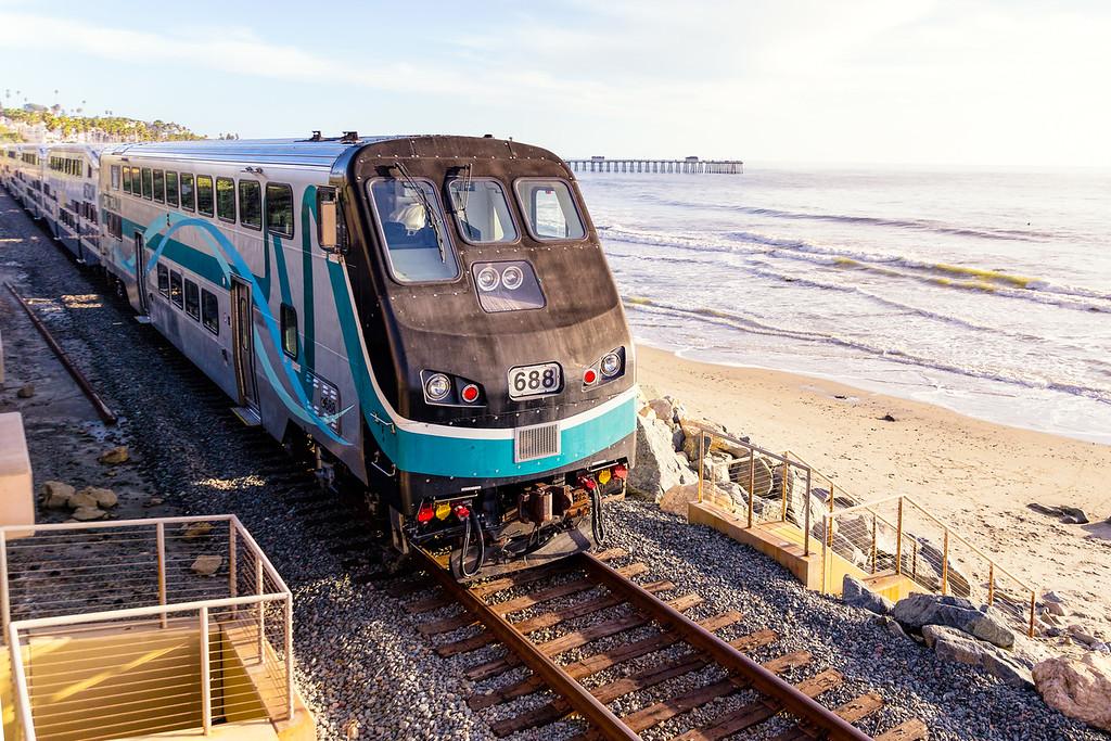 Metrolink at San Clemente