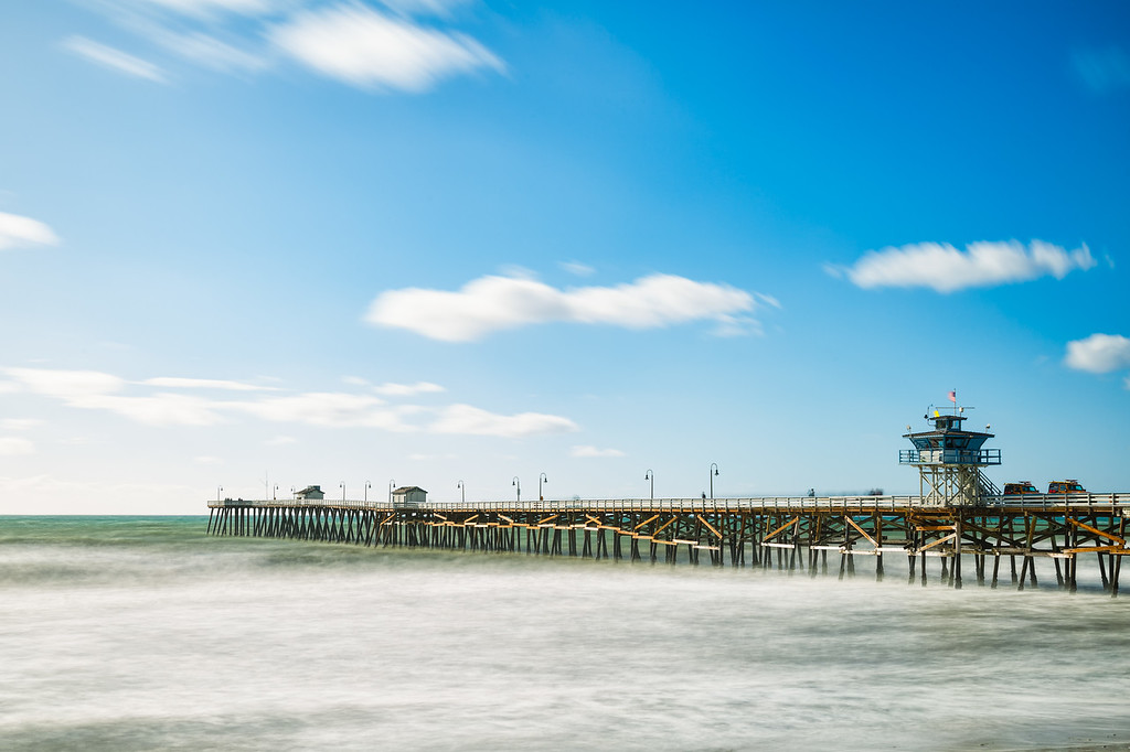 10 stop ND San Clemente pier