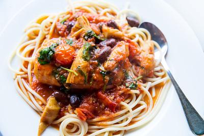 Mahi Spagetti food 6070