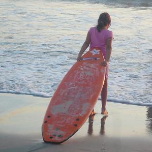 girl on Beach, SD