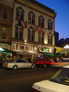 Fifth St at night