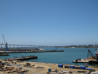 San Diego Bay and the Bridge to Coronado