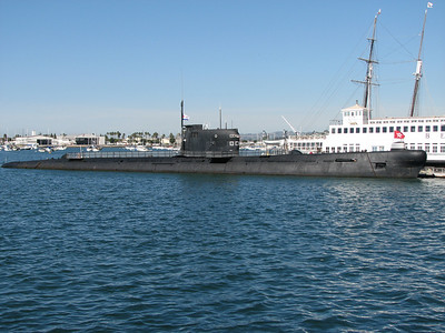 B-39 Foxtrot submarine at the San Diego Maritime Museum