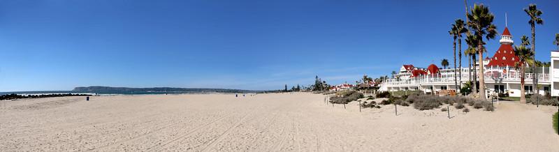 Coronado Beach Panorama