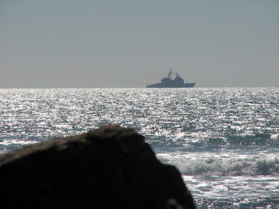 Tycho class Cruiser off the coast of San Diego