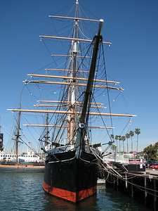 Star of India in San Diego Bay.