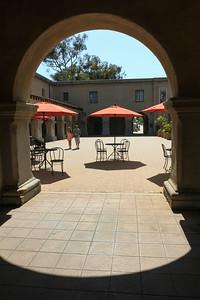 Museum of Man Courtyard