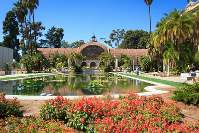 The Lily Pond and Botanical Building