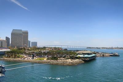 San Diego Bay and Coronado Bridge