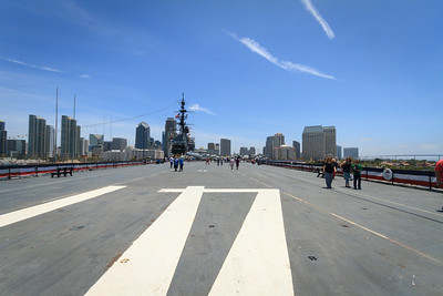 USS Midway Flight Deck