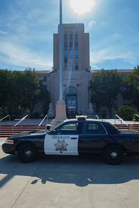 Sheriff Car and County Building