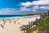 Sunny San Diego beach