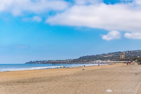 Views from Ocean Front Walk in San Diego