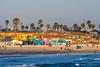 San Diego beach on a sunny afternoon