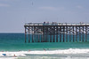 Crystal Pier in San Diego on a sunny summer afternoon