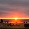 Sunset at La Jolla Beach