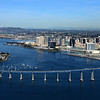 Aerial Photo of  San Diego with the Coronado Bridge
