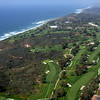 Aerial view of the Torrey Pines South Golf Course, site of the 2008 US Open Golf Championships.