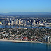 Aerial Photo of San Diego with the Hotel Del Coronado