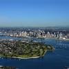 Aerial Photo of the Coronado Golf Course and San Diego Bay