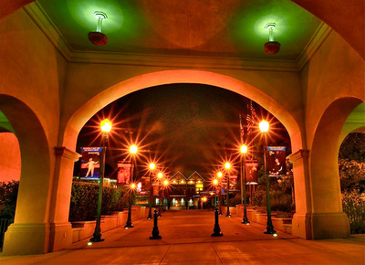 San Diego / Balboa Park at Night