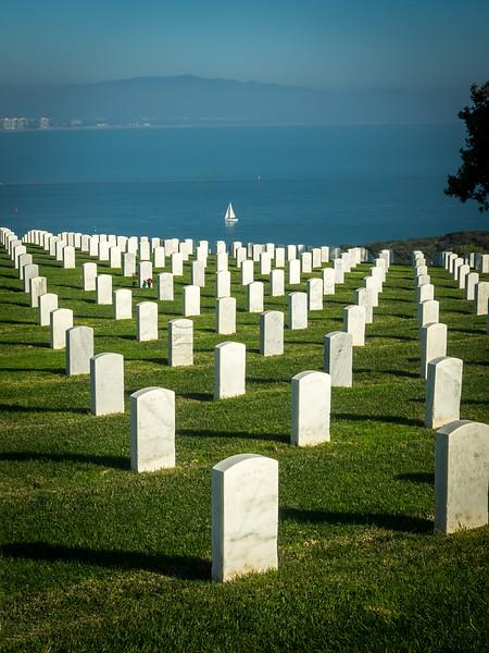 Military Cemetery in Cabrillo