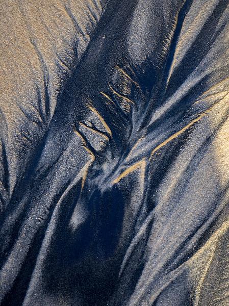 Nature's sand art