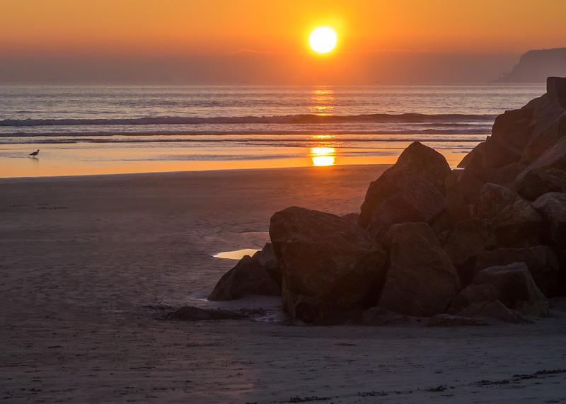Sunset on Coronado Island