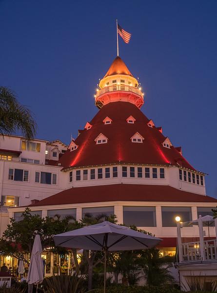 Dome of the Hotel del Coronado