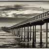 The Ocean Beach Pier after sunset