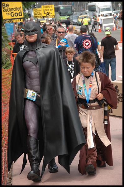 Comic-Con, San Diego, 2012