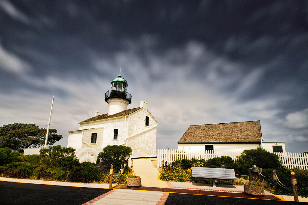 Historic Lighthouse Point Loma