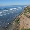 Surf beach in Del Mar, California.